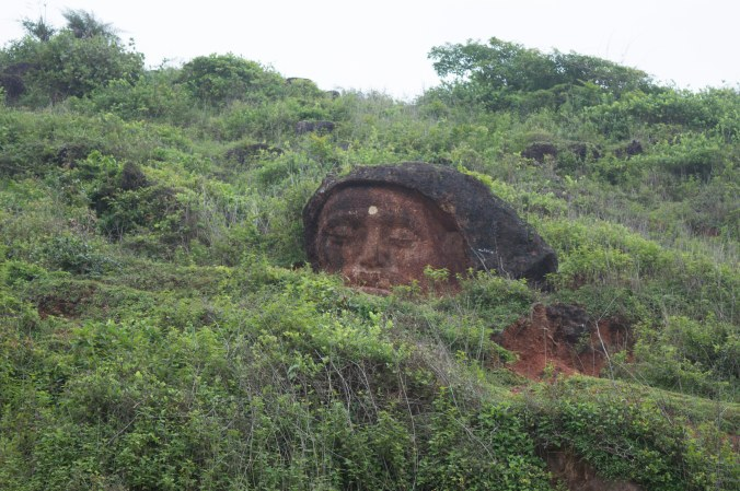 Carved stone, Gokarna