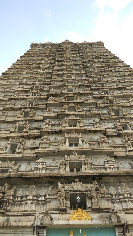 Temple gate, Murudeshwar