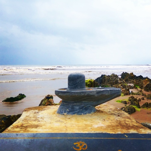 Shivling at Gokarna beach