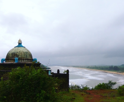 View of Gokarna from hill