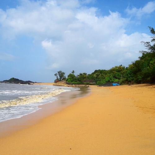Tranquil Om beach