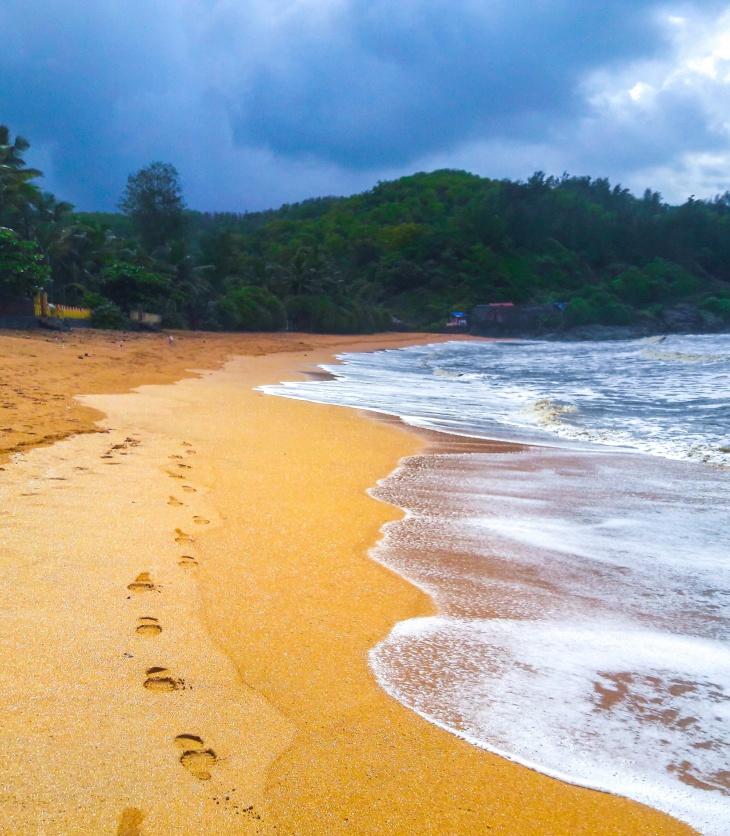 pristine Om beach