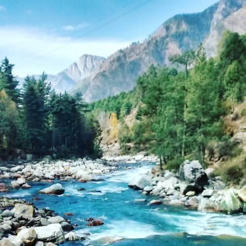 Parvati River-Kasol