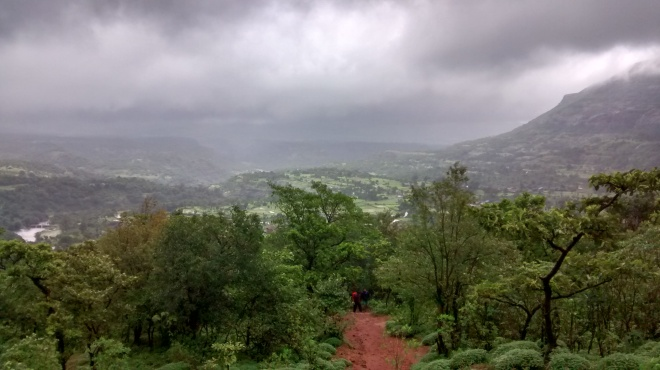 Harishchandragad in monsoon