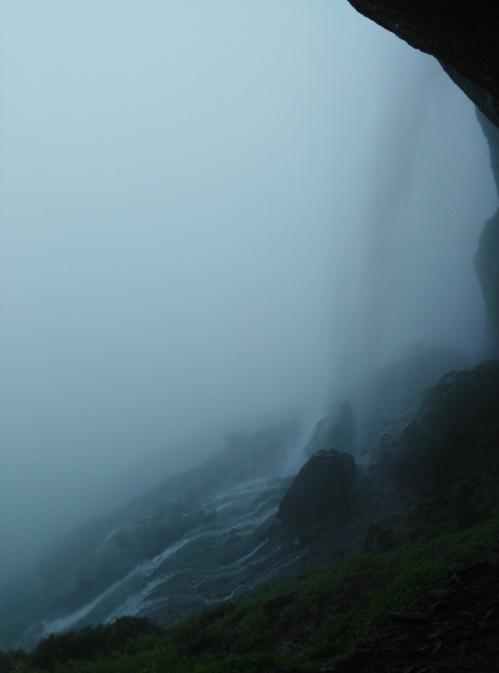 Waterfall in harishchandragad