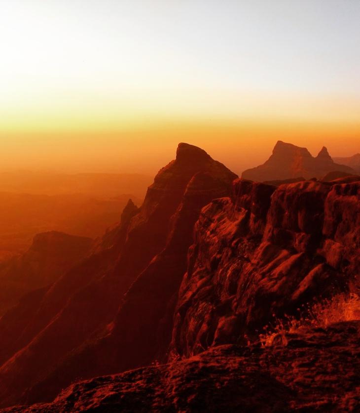 cliff of Konkan Kada