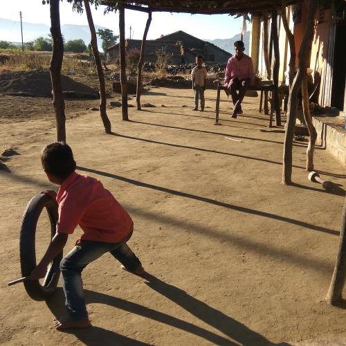 Life in a village-Khireshwar