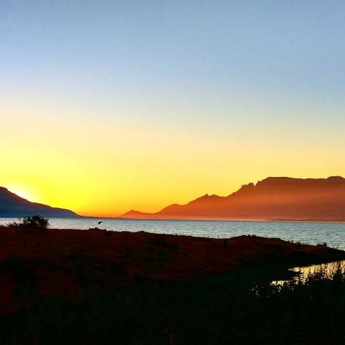 Sunrise at Joga Dam