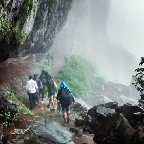 Harishchandragad in monsoon- via Pachnai route