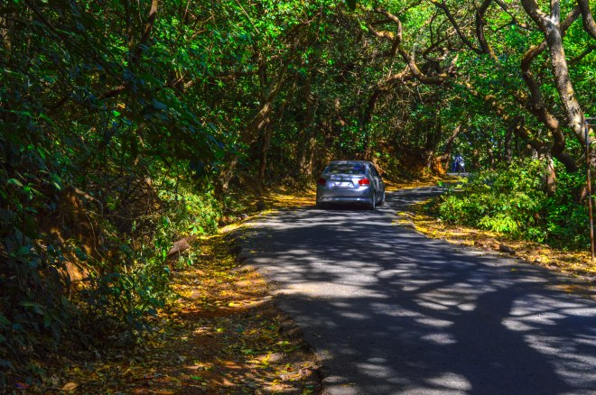 Road to panchgani