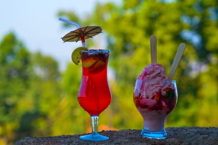 Desserts at Mapro Garden