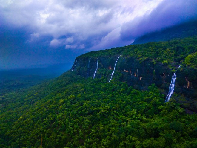 ghats and waterfalls via ganesh ghat