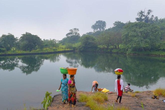 Udhewadi Lake-Rajmachi