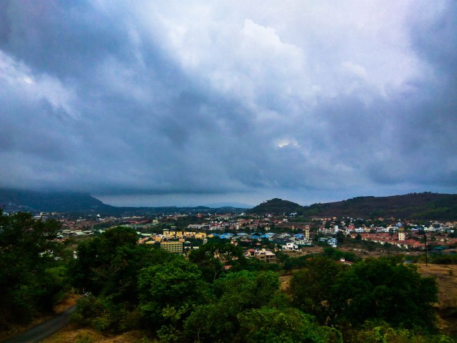 view from tungarli dam.