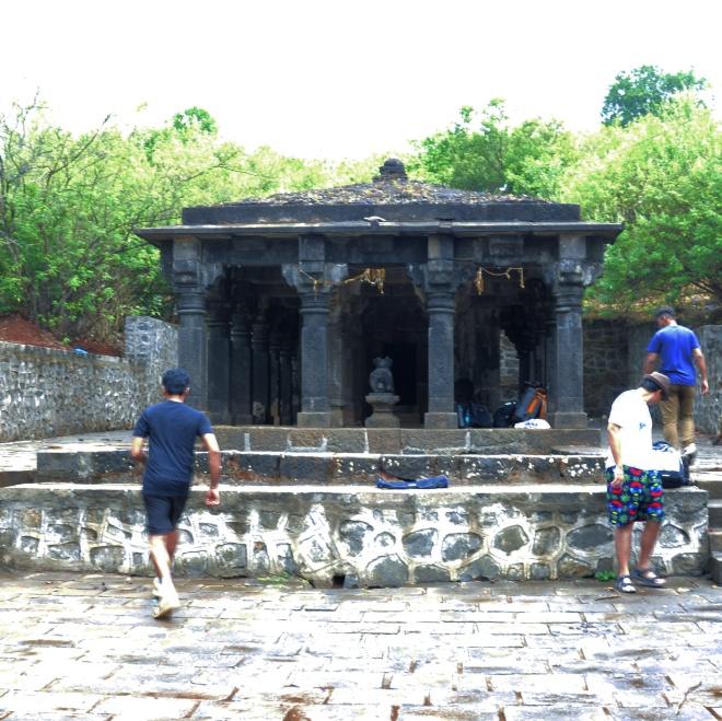 Temple in Rajmachi