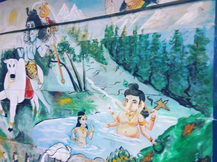 wall painting- Kheerganga