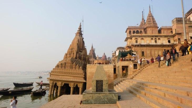 Temple at Manikarnika ghat