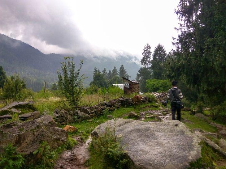 A walk in the village
