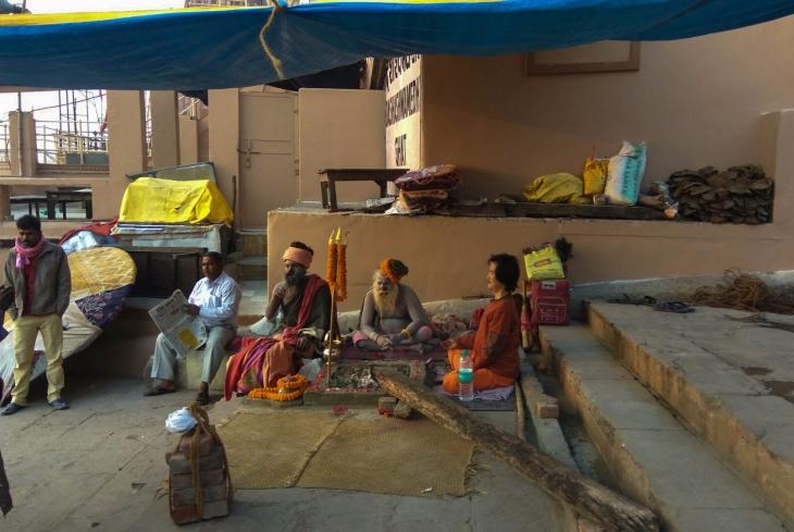 Aghoris in Banaras