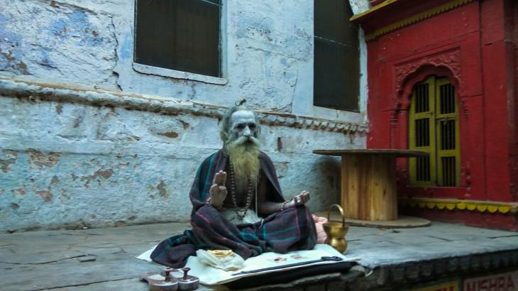 Sadhu baba in Banaras