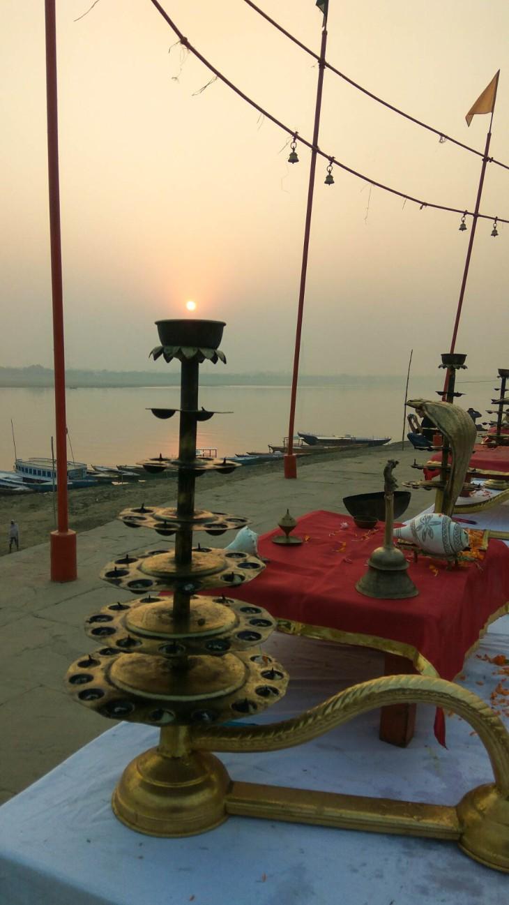 Arti at Assi ghat