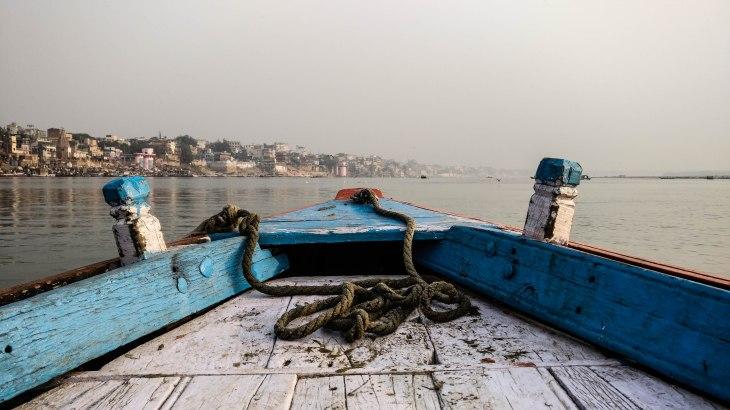 Boat ride in Banaras