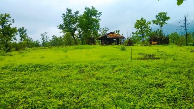 Base village for trek to takmak fort