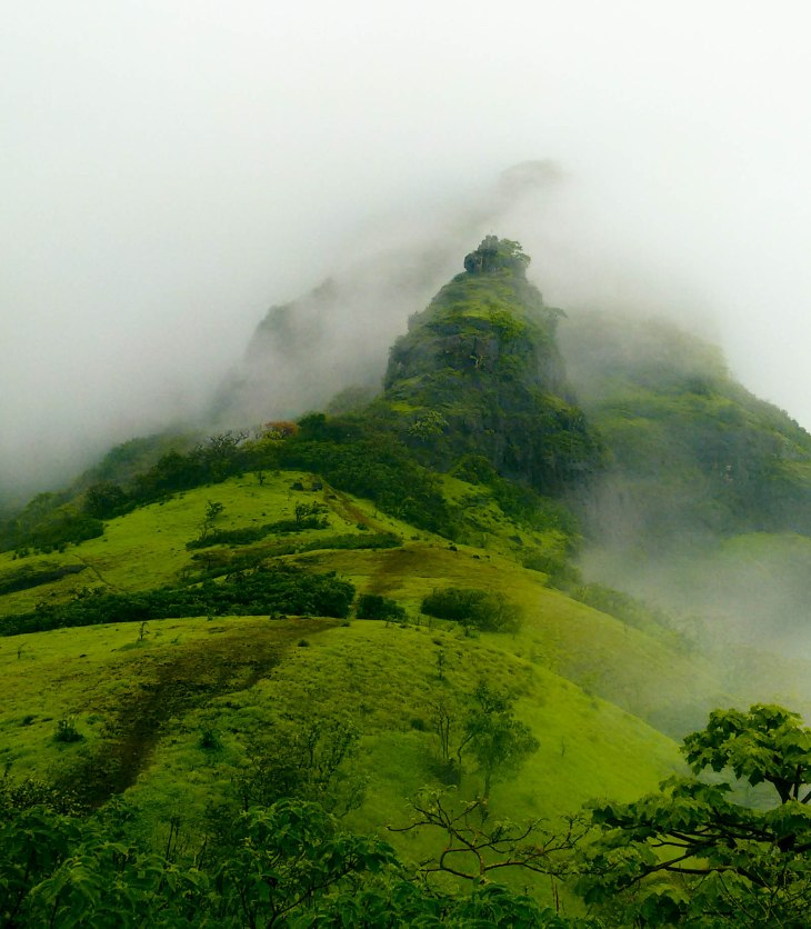 The ridge- Takmak Fort