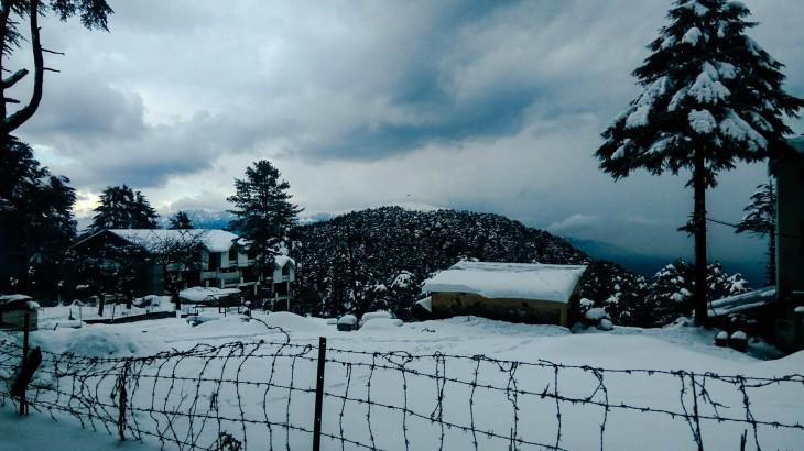 snowfall in Patnitop