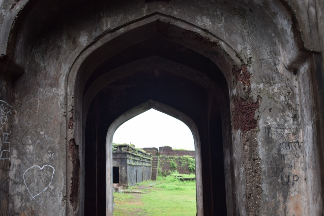 Entrance of the Jaigad Fort