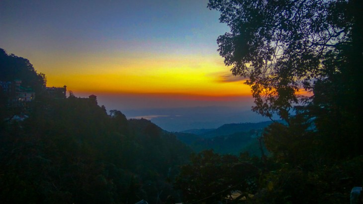 Sunset in Dalhousie