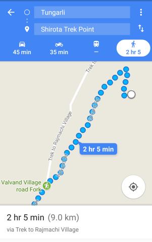 GPS for Shirota lake