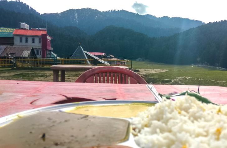 Lunch at Khajjiar