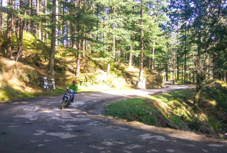 Road to Khajjiar