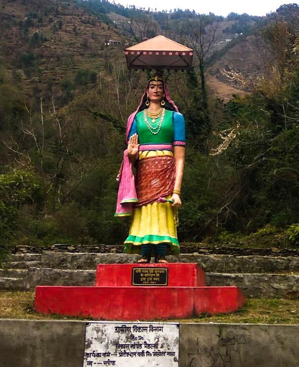 Statue of Sunayna devi
