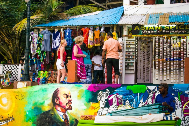 Streets of Kovalam