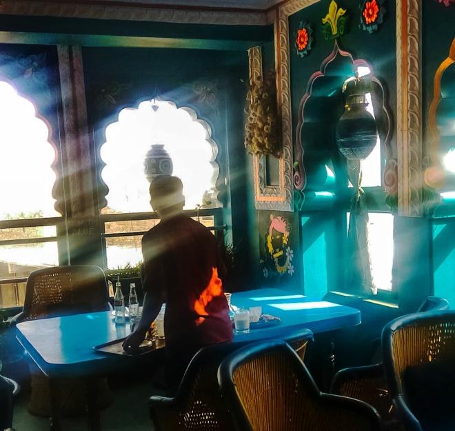 Cafe in Pushkar
