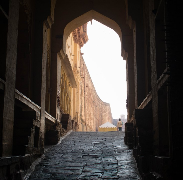 Entrance to Mehrangarh Fort