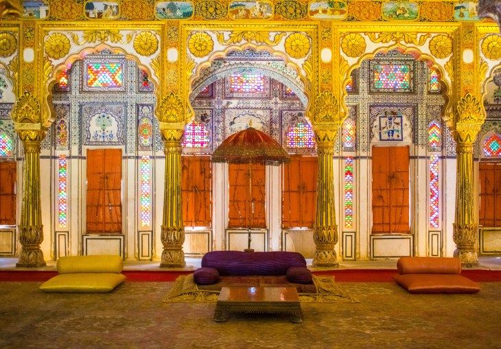 King's room at Mehrangarh